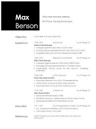 Sample Cv Resume by Resume Templates Open Office Template Idea