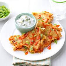 Buffalo Chicken Buffalo Chicken Quesadillas Recipe Taste Of Home
