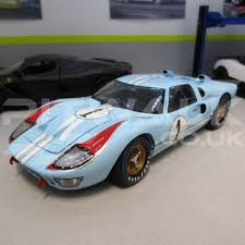 gulf gt40 shelby collectables 1 18 1966 ford gt40 40 mk2 gulf 24 hours le