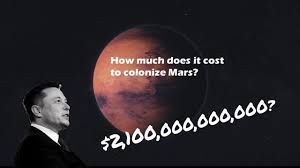 how much is it to go to the zoo lights how much does it cost to colonize mars 2 100 000 000 000 youtube