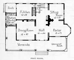 100 historic farmhouse floor plans sears home map of