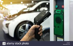 electric vehicles charging stations electric vehicle charging station for home with ev car background