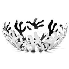 alessi mediterraneo large stainless steel fruit bowl peter u0027s