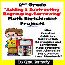 2nd grade addition subtraction regrouping borrowing math