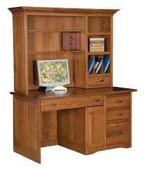 computer desk and credenza solid wood office computer desk credenza