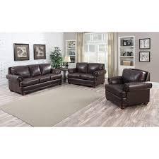 Distress Leather Chair Brandon Distressed Whiskey Italian Leather Sofa Loveseat And Chair