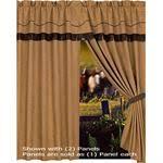 western decor curtains
