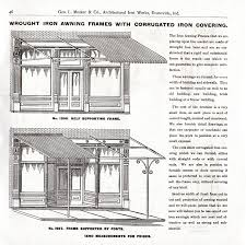 Century Awning Industrial Awning Canopy Marquise Mesker Brothers