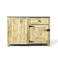 meuble cuisine bois recyclé cuisine bois recycle meuble poignee frigo pas cher capitallist co