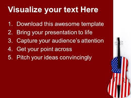 celebrate independence with music powerpoint templates ppt