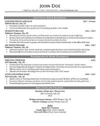 Fake Work Experience Resume Theater Resume Example Entertainment Production Fine Arts