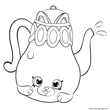 petkins tea pot from season 5 petkins shopkins coloring pages