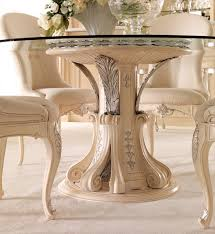 Italian Dining Room Furniture Opulent Italian Glass Dining Table Set Juliettes Interiors