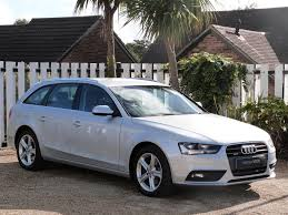 used ice silver audi a4 avant for sale dorset