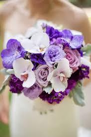 Violet Wedding Flowers - too pretty to miss purple wedding bouquets mon cheri bridals