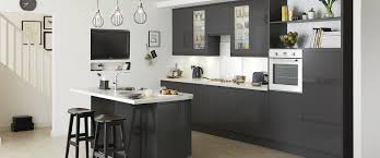 clerkenwell gloss graphite k i t c h e n pinterest kitchens