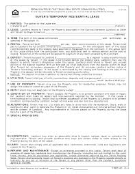 apartment lease agreement form rental sample free residential
