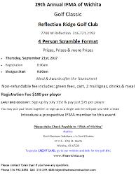 Golf Tournament Sign Up Sheet Template Golf Registration Sponsor 2017 Ifma Wichita