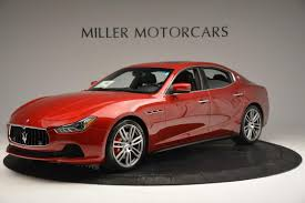 maserati red 2016 maserati ghibli s q4 stock m1525 for sale near westport ct