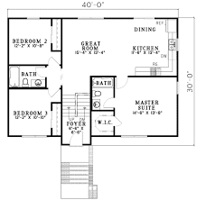 southern style house plan 4 beds 3 00 baths 1614 sq ft plan 17 428