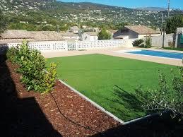 plage de piscine transformation du jardin comportant la piscine avec apport de