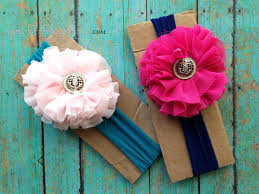 how to make baby flower headbands chiffon flower tutorial spoonful of imagination