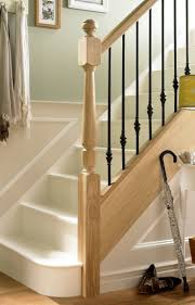 Traditional Staircase Ideas Oak Staircase Spindles Jewsonenterprises Com