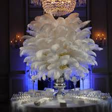 feather plume centerpieces 18 best feather centerpieces images on