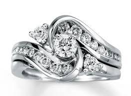 wedding ring bridal set ring bling jewelry silver princess cut engagement wedding ring