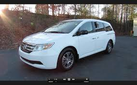 2011 honda odyssey ex l start up exhaust and in depth tour youtube