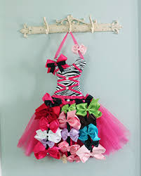 hair bow holder bow storage