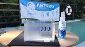 dr film anti fog demostration youtube