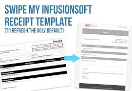 it invoice template swipe my infusionsoft invoice and receipt template blick digital let s face it the default infusionsoft invoice and receipt template isn t pretty it looks like it was designed in 1999 i struggled with this because this