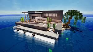 Maison De Luxe Americaine by Minecraft Maison Moderne Avec Xroach 2 Youtube