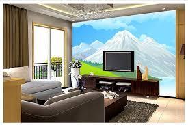 cartoon living room background 3d photo wallpaper custom 3d wall murals wallpaper landscape cartoon