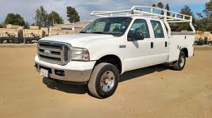 Ford F250 Utility Truck - 2005 ford f250 crew cab royal utility bed 4x4 sas motors