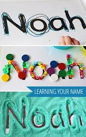 Ideas With A Name 89 Best Name Activities Images On Preschool Writing And