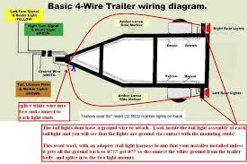 4 way wiring diagram for trailer lights facbooik with regard to