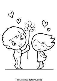free love coloring pages thelittleladybird com