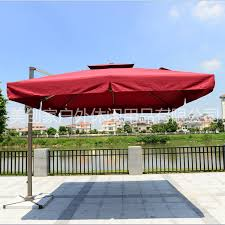 Side Patio Umbrella Outdoor Umbrellas Umbrella Roman Square Side Column Umbrella Beach