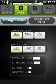 netspeed test android software fr