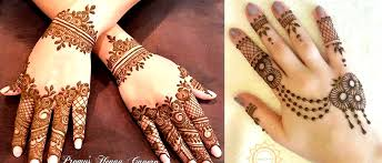 simple back mehndi designs fashion and fitness now