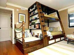 Bunk Bed With A Desk Size Bunk Beds Chatel Co