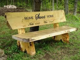 rustic garden bench furniture ideas u2014 emerson design