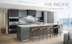 grosvenor kitchen design previews for the pacific by grosvenor begin one bedrooms from