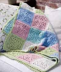 200 free crocheted afghan patterns at allcrafts