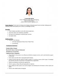 cover letter example resume for job an example of a resume for a