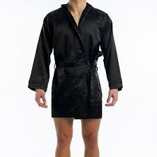 robe de chambre hommes homme satin noir robe de chambre homme soie decormachimbres com