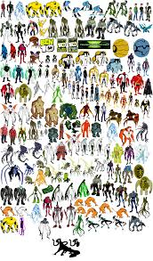 ben 10 aliens list images reverse