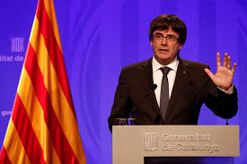 catalonia u0027s leader u0027we will declare independence in a matter of days u0027